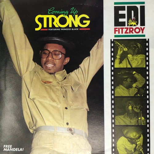 Edi Fitzroy - Coming Up Strong (Jamaïcain Pressing)