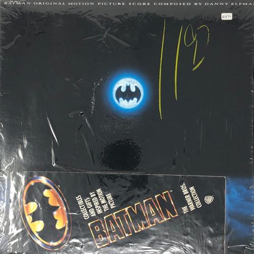 Various - Batman (1989 Original Soundtrack in Open Shrink + Merch Booklet)