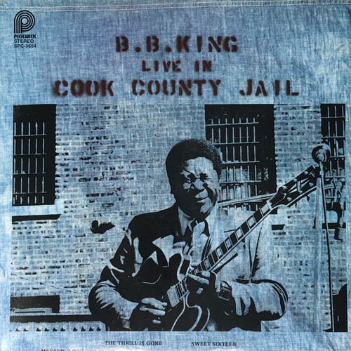 B.B King - Live in Cool County Jail (70's Pickwick Reissue)