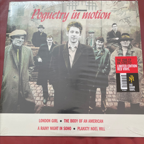 The Pogues - Poguetry in Motion (Limited Edition Red Vinyl)