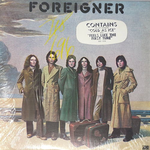 Foreigner - S/T (Open Shrink with Hype Sticker)