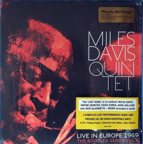 The Miles Davis Quintet - Live In Europe 1969 (4-LP - The Bootleg Series Vol. 2)