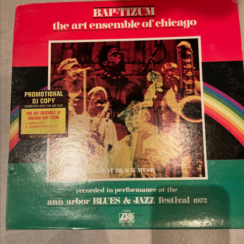 The Art Ensemble Of Chicago - Bap-tizum ( Promo - vinyl is NM)