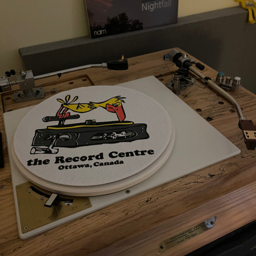 Record Centre Turntable Mats