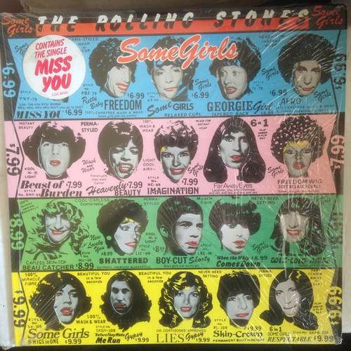 The Rolling Stones - Some Girls ( Sealed USA 1st pressing with hype sticker)