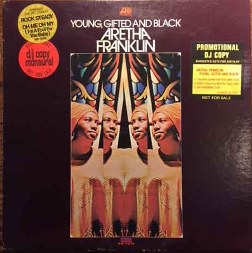 Aretha Franklin - Young, Gifted And Black ( Promo -1st USA pressing)
