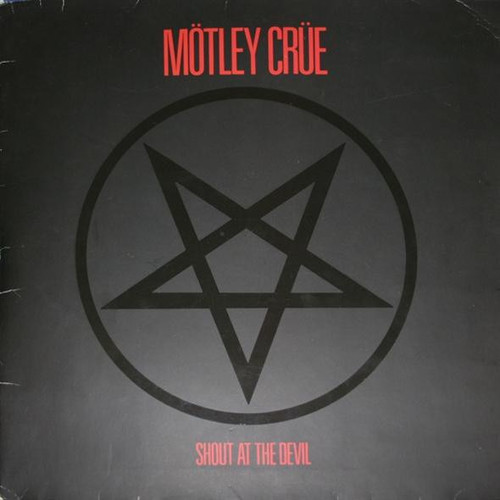 Mötley Crüe - Shout At The Devil (1983 Gatefold with inner VG+)