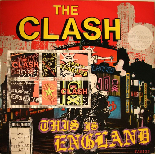 The Clash - This Is England (1985 UK)