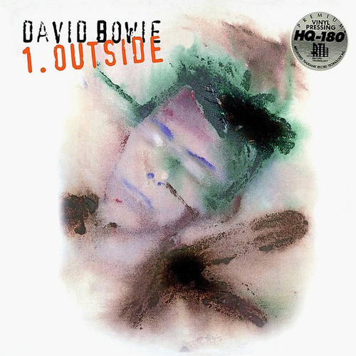 David Bowie - 1. Outside ( Limited Edition 2015 white vinyl NM)