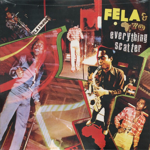 Fela Kuti - Everything Scatter (Limited Edition Colored Vinyl)