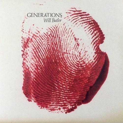 Will Butler (Arcade Fire) - Generations (Limited Edition Red Splatter Vinyl in Open Shrink)