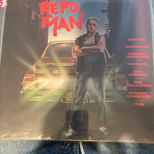 Various - Repo Man (Music From Original Motion Picture Soundtrack) SEALED
