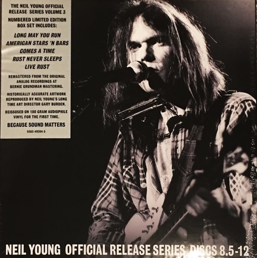 Neil Young - Official Release Series Discs 8.5 - 12
