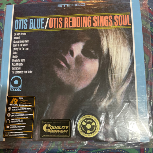 Otis Redding / Otis Blue - Sings Soul (Analogue Productions 2LP 200g)