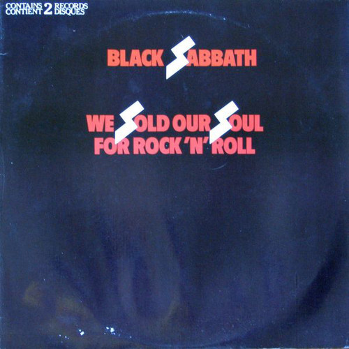 Black Sabbath - We Sold Our Soul For Rock And Roll