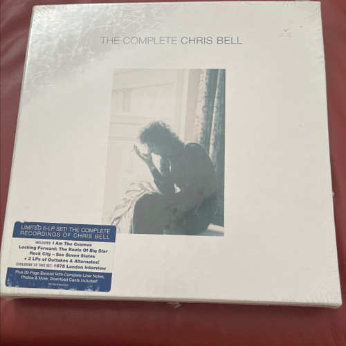 Chris Bell - The Complete Chris Bell Box 6 LPs sealed