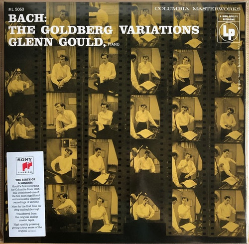 Johann Sebastian Bach - The Goldberg Variations Glenn Gould