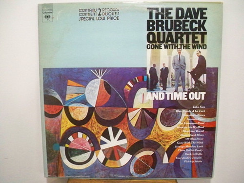 The Dave Brubeck Quartet - Gone With The Wind / Time Out
