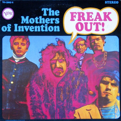 The Mothers - Freak Out! ( 1st Canadian pressing - Hot Spots add Vinyl is VG+/NM)