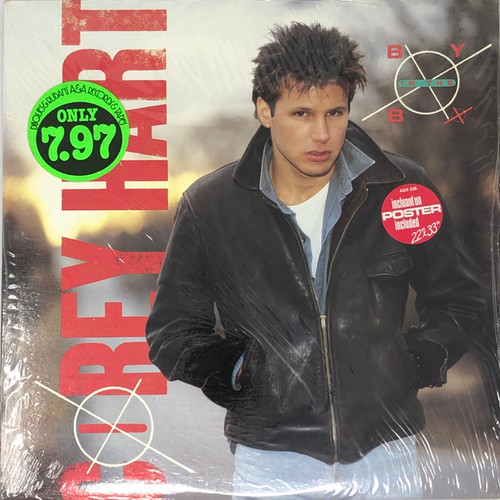 Corey Hart - Boy in the Box (Complete with Poster in Open Shrink with Stickers)