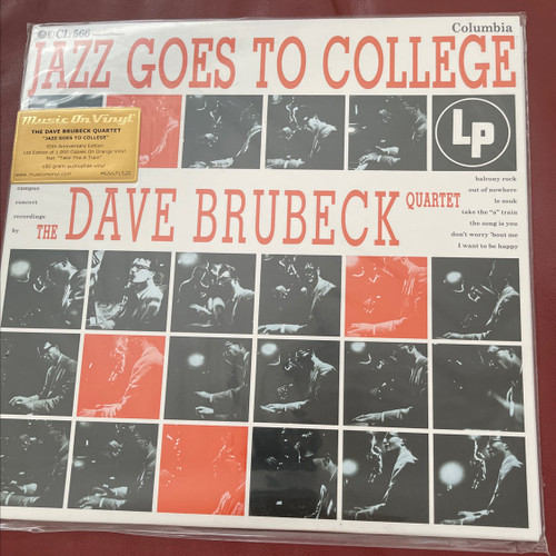 Dave Brubeck Quartet - Jazz Goes to College limited edition