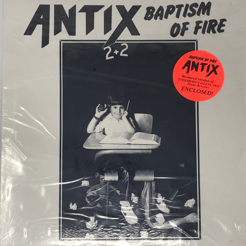 Antix - Baptism Of Fire (SEALED)