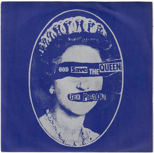 Sex Pistols - God Save The Queen (variant 1 NM)