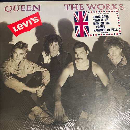 Queen - The Works (Original Shrink with hype stickers - Vinyl is NM)