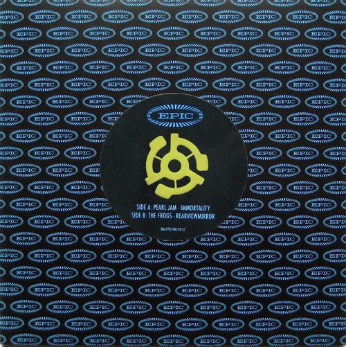 """Pearl Jam - Immortality / Rearviewmirror (RSD 2011 Limited Edition 7"""" Single)"""
