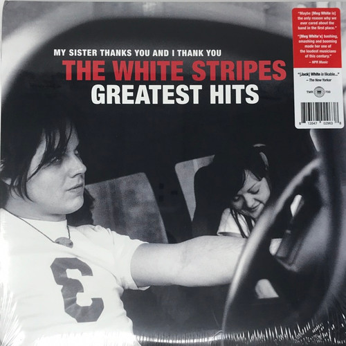The White Stripes -  Greatest Hits (with Bonus Promo Poster and Notepad)