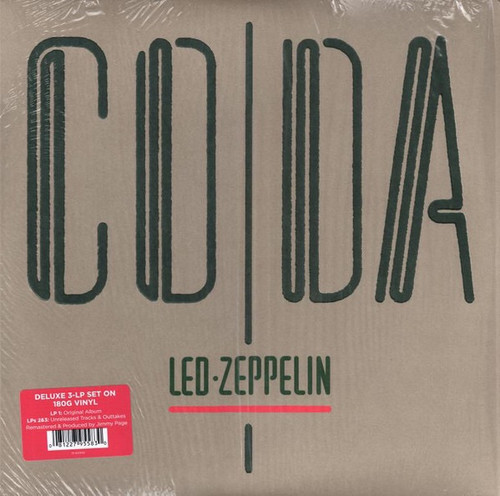 Led Zeppelin - Coda ( 2015 Deluxe 3LP Edition)
