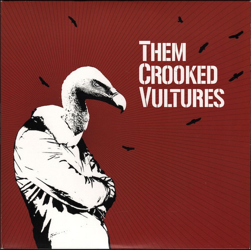 Them Crooked Vultures - Them Crooked Vultures (2009  Original in VG+ condition)