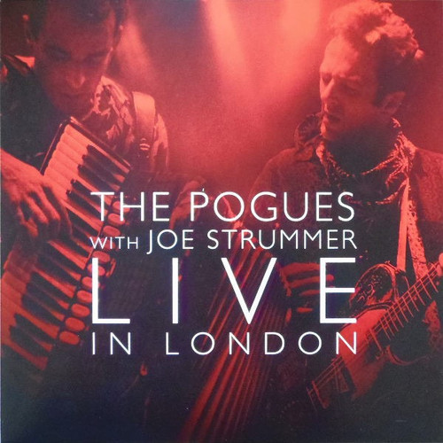 The Pogues - Live In London  (limited edition Red vinyl )