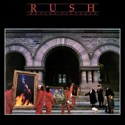 Rush - Moving Pictures (2015 - 200g pressing NM/ VG+)