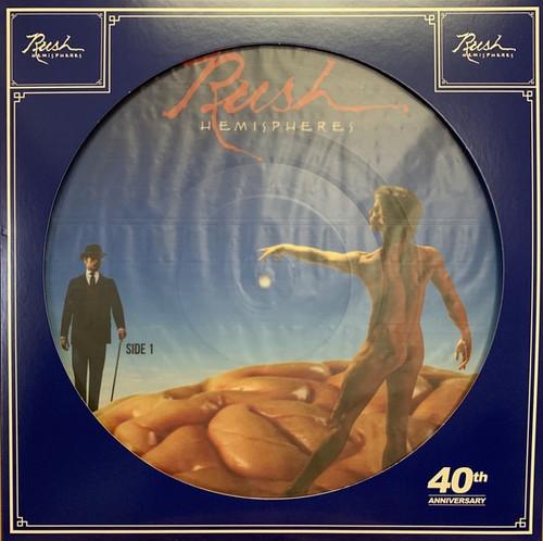 Rush - Hemispheres ( 40th anniversary picture disc)
