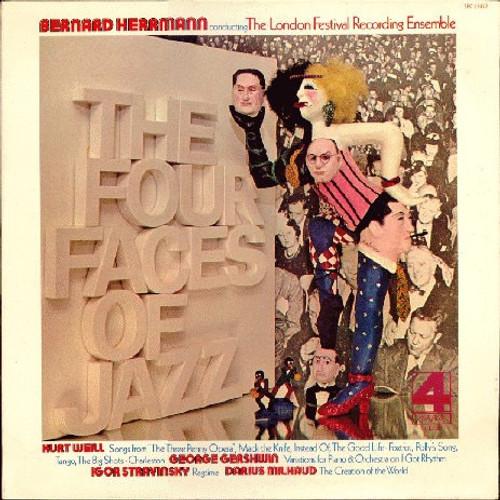 Bernard Herrmann - The Four Faces Of Jazz