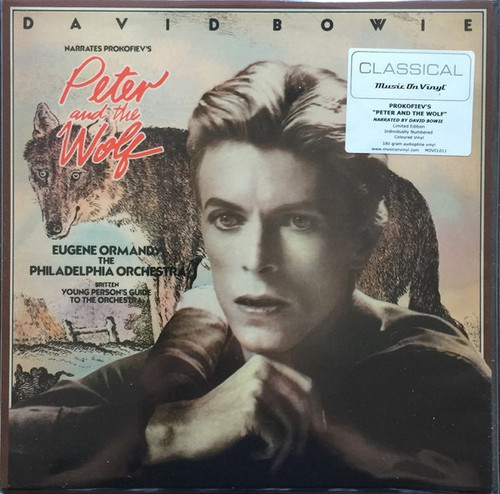 David Bowie - Peter And The Wolf / Young Person's Guide To The Orchestra ( Limited Edition numbered coloured vinyl)
