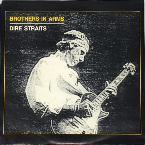 """Dire Straits - Brothers In Arms (Canadian 7"""" Single NM/NM)"""