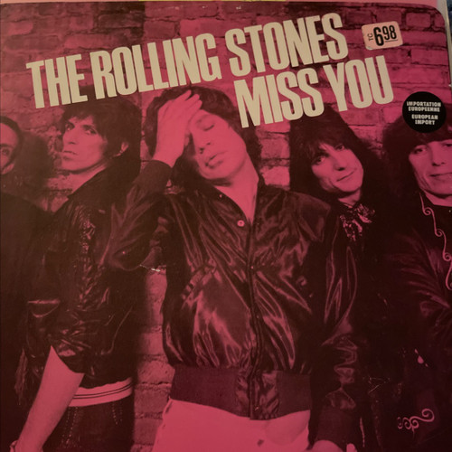 Rolling Stones Miss You EP Pink