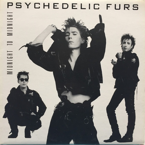 The Psychedelic Furs - Midnight To Midnight ( Vinyl is VG+)