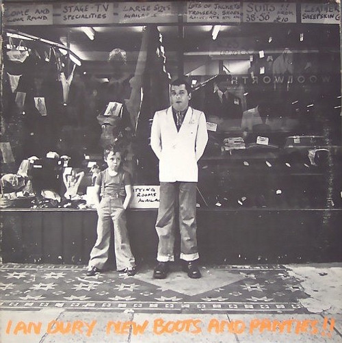 """Ian Dury - New Boots And Panties!! ( with 7"""" Promo)"""