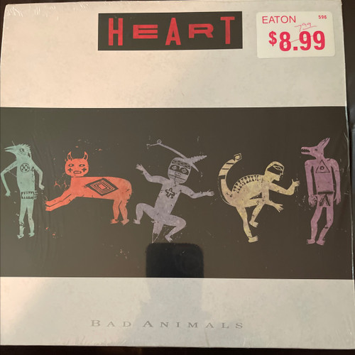 Heart Bad Animals ( mint in shrink- unplayed vinyl)