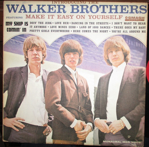 The Walker Brothers - Introducing The Walker Brothers ( Original 1965 Mono is NM  vinyl in shrink)