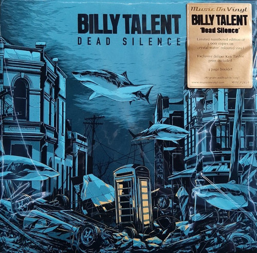 Billy Talent - Dead Silence (Limited Edition numbered Music on Vinyl)