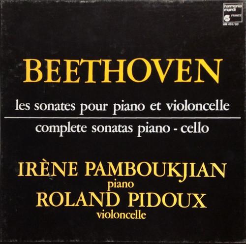 Ludwig van Beethoven - Les Sonates Pour Piano Et Violoncelle / Complete Sonatas Piano – Cello