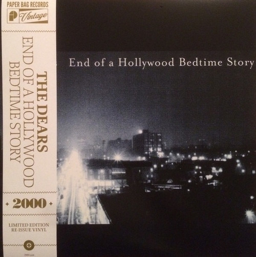 The Dears - End Of A Hollywood Bedtime Story (Limited Edition in Open Shrink)