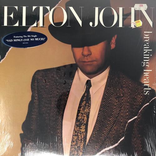 Elton John - Breaking Hearts (In Open Shrink with Hype Sticker)