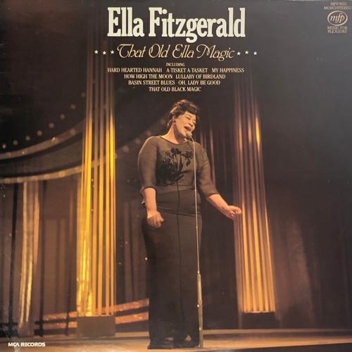 Ella Fitzgerald - That Old Ella Magic (UK MFP Pressing)