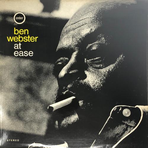Ben Webster - At Ease (1st UK Stereo Pressing on Ember)