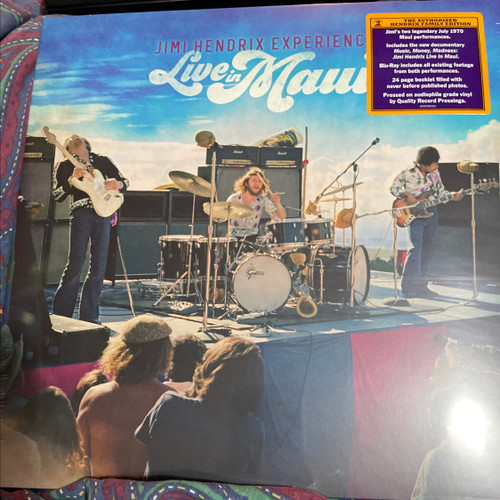 Jimi Hendrix Experience - Live in Maui 1970 (Boxset)